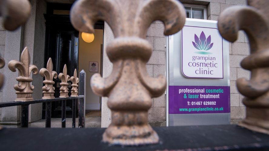 The Grampian Cosmetic Clinic Banner