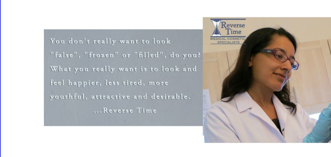 Reverse Time Aesthetic Treatments Banner