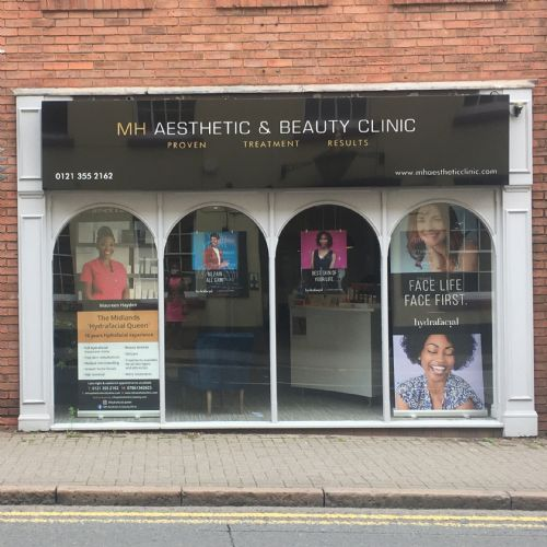 M H Aesthetic Clinic Banner