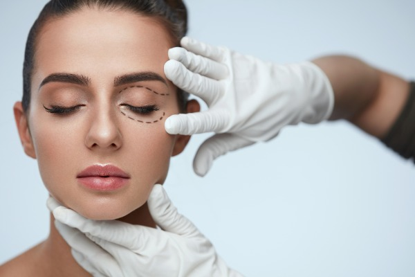 Blepharoplasty or Upper and Lower Eyelid Surgery Information Image