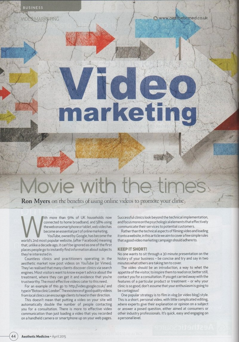 Movie with the times - video marketing