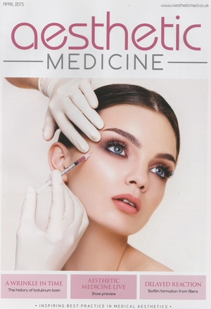 Aesthetic Medicine April Front Cover