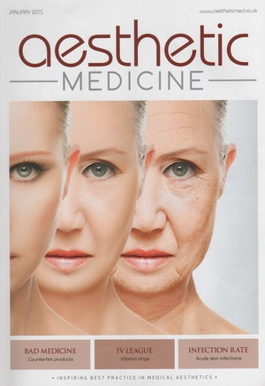 Aesthetic Medicine January front cover