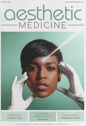 Aesthetic Medicine March Front Cover
