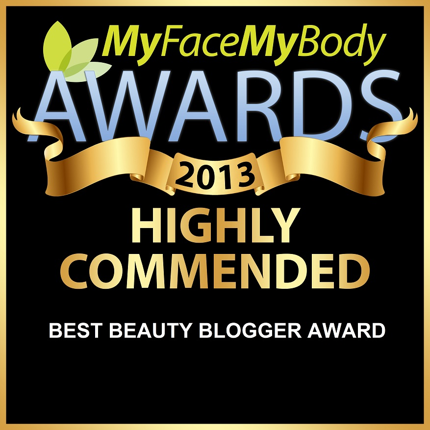 MyFaceMyBody 2013 Award