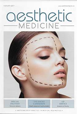 Aesthetic Medicine Magazine Cover February 2017