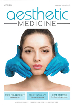 Aesthetic Medicine Magazine - March 2016 Cover