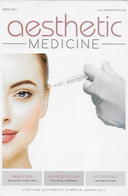 Aesthetic Medicine Magazine Cover March 2017