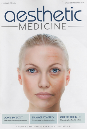 Aesthetic Medicine July front cover