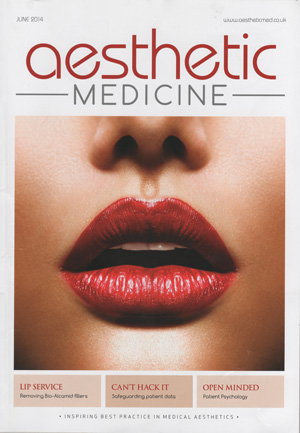 Aesthetic Medicine magazine front cover