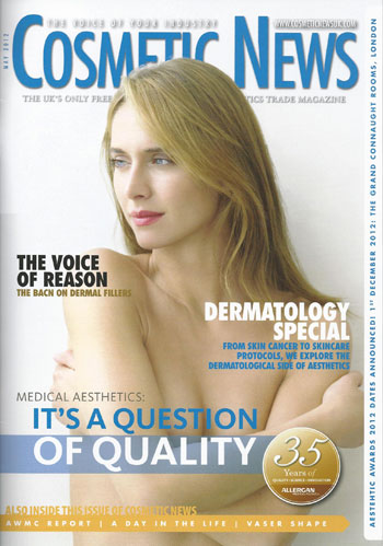 Cosmetic News May 2012 Cover