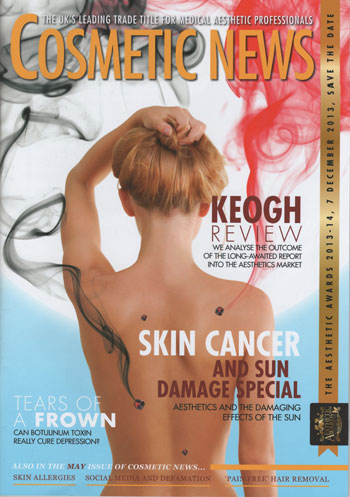 Cosmetic News Front Cover May 2013