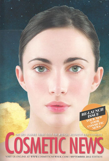 Cosmetic News Sept 2012 Cover