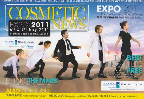 Cosmetic News Cover May 2011