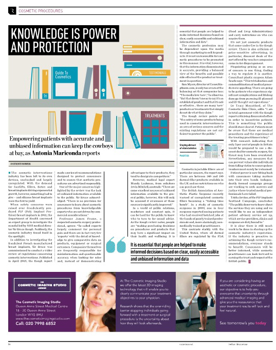 Raconteur Cosmetic Procedures Article