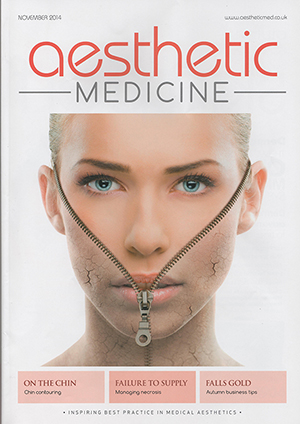 Aesthetic Medicine magazine November cover