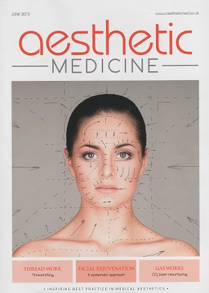Aesthetic Medicine Cover June 2015