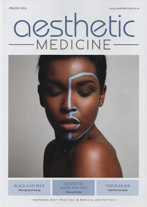 Aesthetic Medicine January 2016 Cover