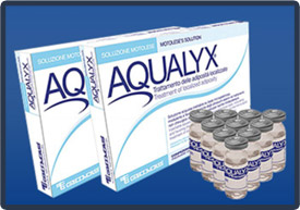 Aqualyx in the bottle